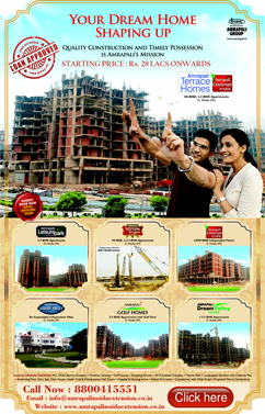 Amrapali booking offer
